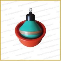 软质PVC材质球体式漏粪塞 碗式排污阀 猪场专用 质量保证