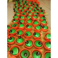 牧业猪厂专用粪便清洁水泡粪 碗型地漏 球形碗式排污阀 漏粪斗子
