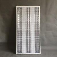 300*1200嵌入式LED防爆格栅灯酒店厨房防爆灯
