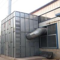 中央除尘设备 伸缩喷漆房 工业喷漆房漆雾处理设备