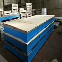 铸铁平台基础平板钳工工作台落地镗床工作台划线平台