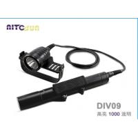 厂家供应brinyteDIV09分体式深度潜水照明手电筒