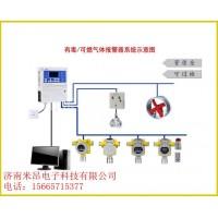 七氟丙烷气体报警器-声光报警-可上传PLC消防系统