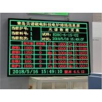 电炉熔炼数据信息显示屏
