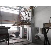 60吨钢水包 铁水包柴油燃气烤包器自动烘烤