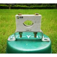 YGG单孔高压电缆卡子型号-发电厂电缆夹具生产
