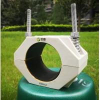 品字型高压三芯电缆夹具-电缆抱箍-电缆支架型号