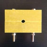 环氧板加工雕刻-阻燃矿井电缆夹具-阻燃电缆卡子生产