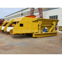 电炉自动加料系统3吨中频炉振动加料小车