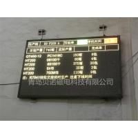 铸造厂熔炼光谱分析数据点阵显示大屏幕