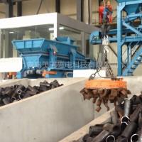 炼钢炉振动加料车电炉自动上料不卡料
