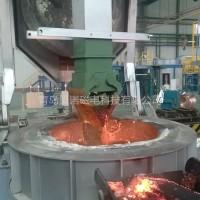 中频熔炼电炉铁水捞渣机规格