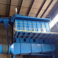 铸造厂熔炉除尘系统袋式电炉除尘器设备