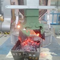 中频感应电炉捞渣机铁水自动捞渣设备